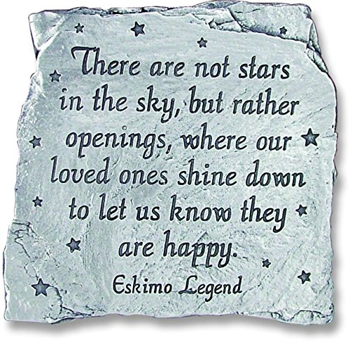 Message Plaque - Cathedral Art MS124 Stars in The Sky Message Plaque, 3-1/2-Inch
