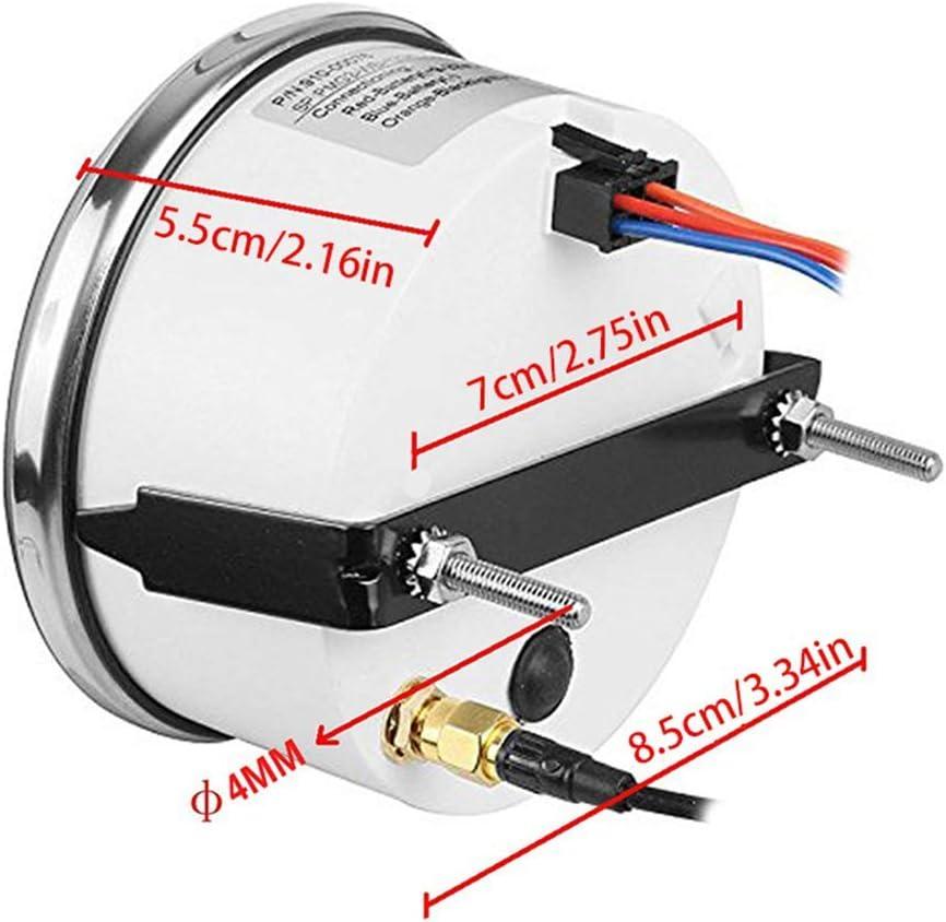 Betrothales tachometer motorrad gps digitales geschwindigkeitsmesser boot lcd digital auto tacho universal auto backlit tachometer 12v 24v Sale Coole Sachen Color : Colour, Size : Size