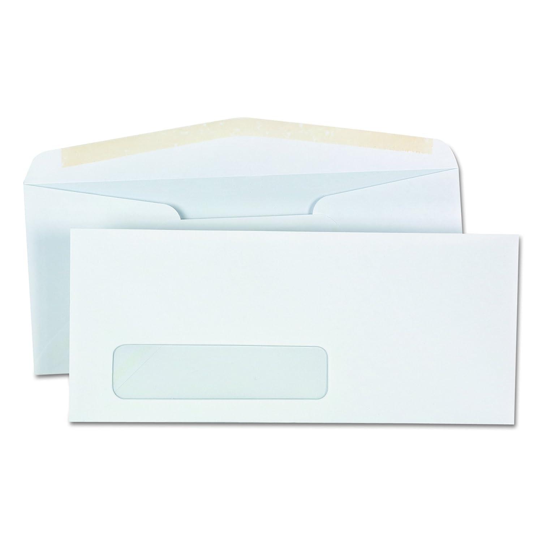 Window Business Envelope, V-Flap,  10, Weiß, 500 Box B0006HVQ8W | Ausgezeichnetes Preis