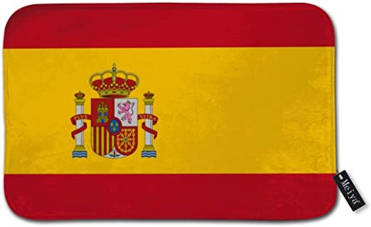 Dutars - Felpudo de Entrada, diseño de Bandera de España: Amazon.es: Hogar