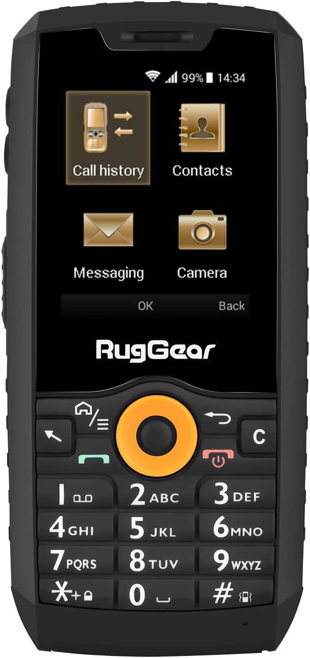 RugGear nuevo RG150 teléfono móvil para trabajo resistente a los golpes, polvo y agua - doble SIM