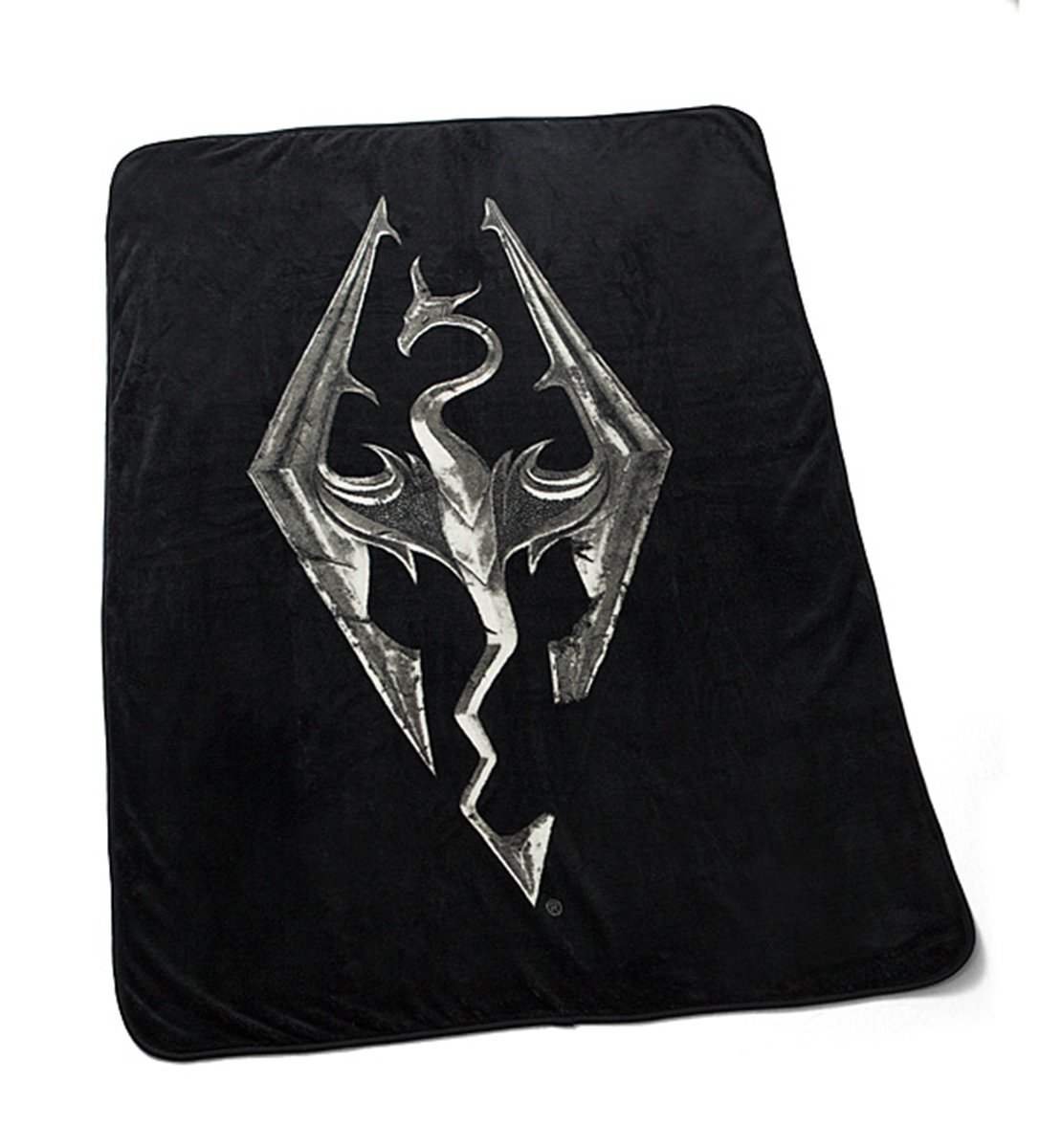 "Skyrim Logo Throw 40 x 60"" Fleece Blanket Standard"