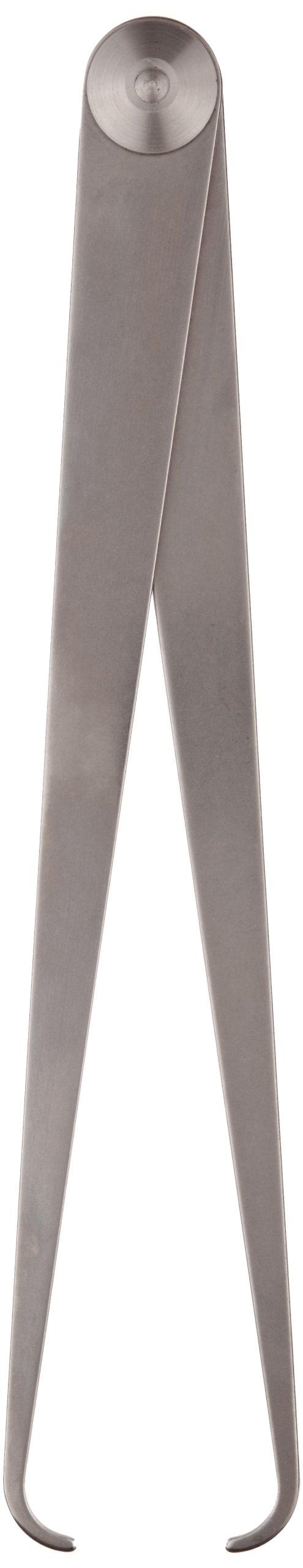 Starrett 27-12 Inside Joint Caliper, Steel, Flat Leg, 0-12'' Range