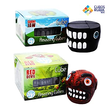 Carni Cubes Set 2 Cubos Rubik Cabeza Criaturas Mexicanas ...