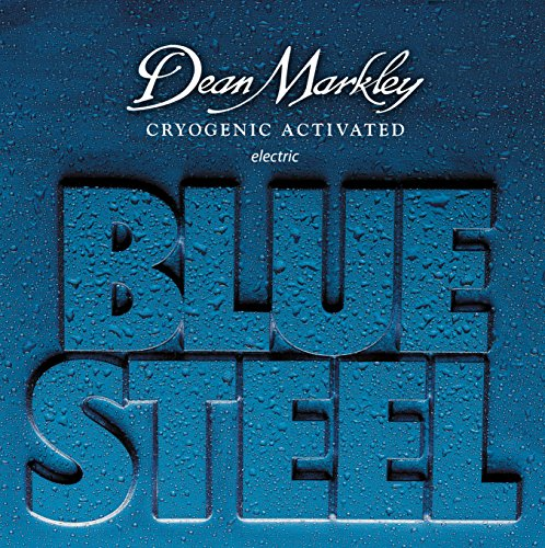Dean Markley 7-String Blue Steel Electric Guitar Strings, 10-60, 2558A, Light Top/Heavy Bottom