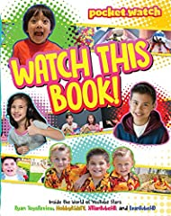 Get to know your favorite YouTube stars—Ryan ToysReview, HobbyKidsTV, JillianTubeHD, and EvanTubeHD—in this hilarious, insightful, and cool look at their lives behind the camera.Watch This Book to discover: -What superpower Ryan wishes he has...