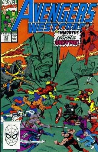 Avengers West Coast Vol. 2,  No. 61