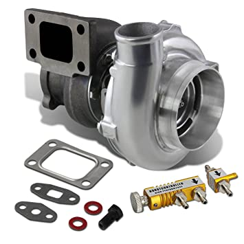 Amazon.com: GT30 GT30R GT3037R GT3076R T3 4-Bolt Polished Turbocharger Turbine A/R .73 + 30 psi Boost Controller (Gold): Automotive