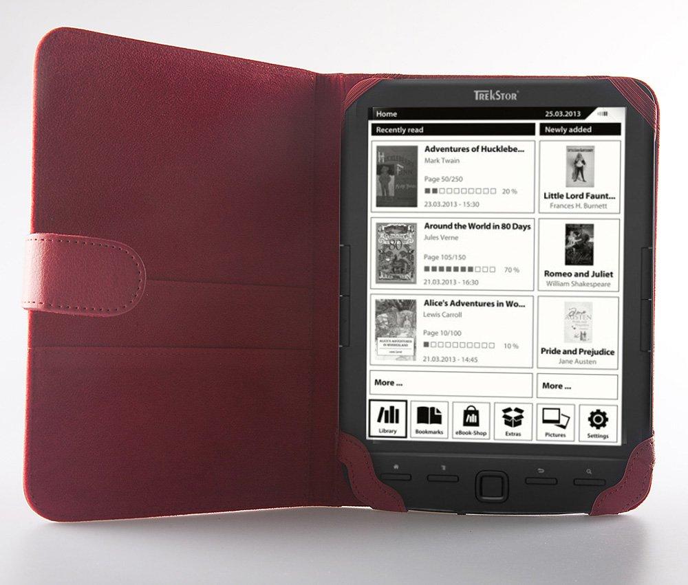 Funda Icarus roja para Icarus 8 y Inves Wibook 801: Amazon.es ...