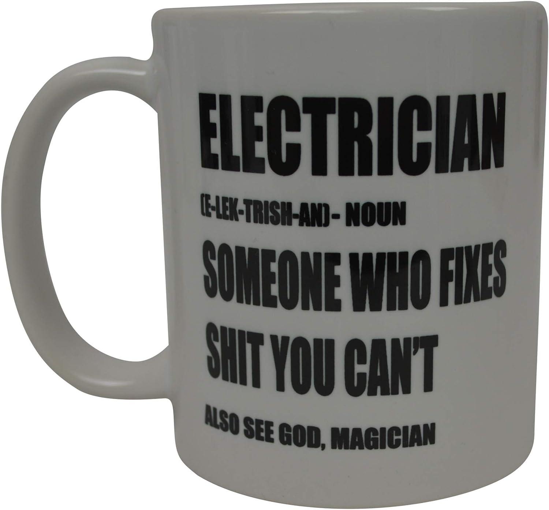 Electrician Funny Gift Mug shan369