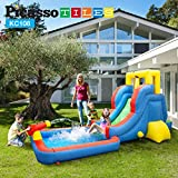 PicassoTiles KC108 Water Slide Park Inflatable