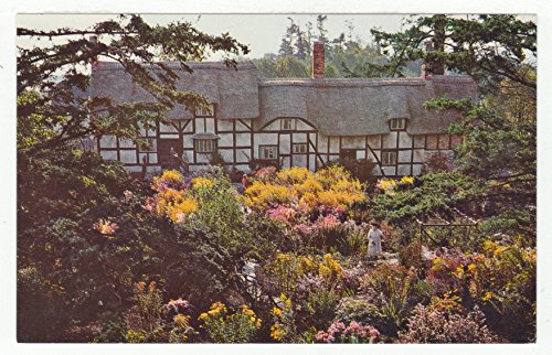 Aunt Hathaway's Cottage and Garden, British Columbia Vintage Original Postcard #2905 - 1960's