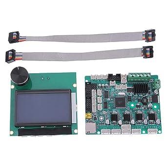 Powlance 12864 - Pantalla LCD para impresora 3D (incluye tablero ...