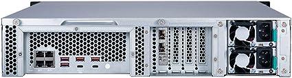 QNAP TS-1283XU-RP-E2124-8G - Servidor NAS (12 bahías)