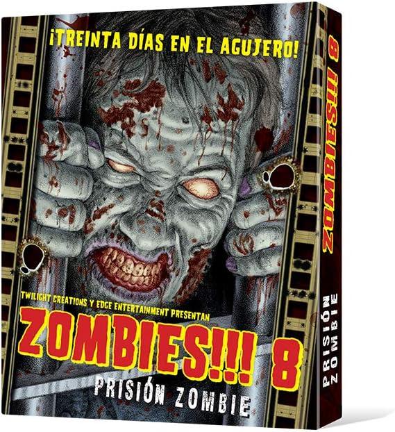 Edge UBIZB08, Juego de tablero - Zombies 8 Prisión zombie: Amazon ...