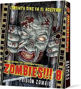 Edge UBIZB08, Juego de tablero - Zombies 8 Prisión zombie: Amazon.es: Juguetes y juegos
