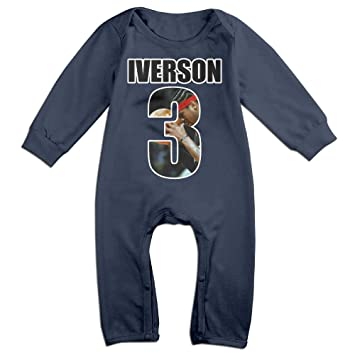 new product 9878a 2acbc Kamici Baby Allen Iverson The Answer Long Sleeve Climb ...