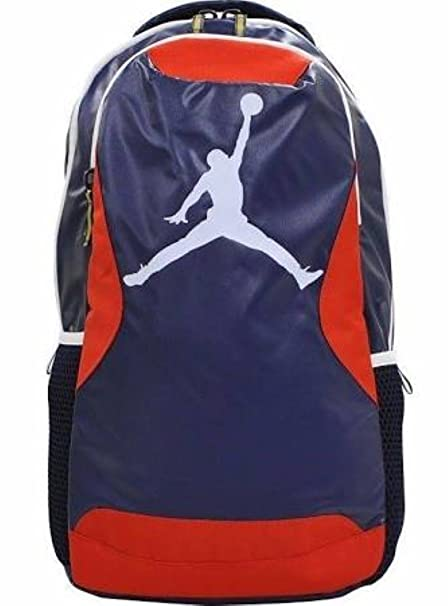 6210f89f975a Amazon.com  Nike Air Jordan Jumpman School Backpack Book Bag Kids Boys   Toys   Games