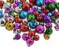 BoNaYuanDa Craft Kits And Supplies 120 Mix Jingle Christmas Bells Loose Beads Charms Jewelry Marking