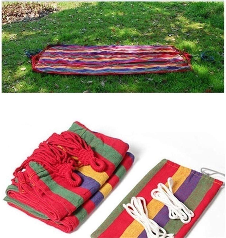 Leikance Rest Hammock,Garden Canvas Hammock Camping Sleeping Swing Bed Hanging Porch Hammock