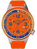 Kienzle Herren-Armbanduhr POSEIDON XL Slim Analog Silikon K2031159163-00263