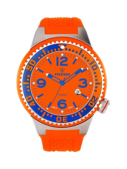 Kienzle K2031159163-00263 - Reloj analógico de cuarzo para hombre con correa de silicona,