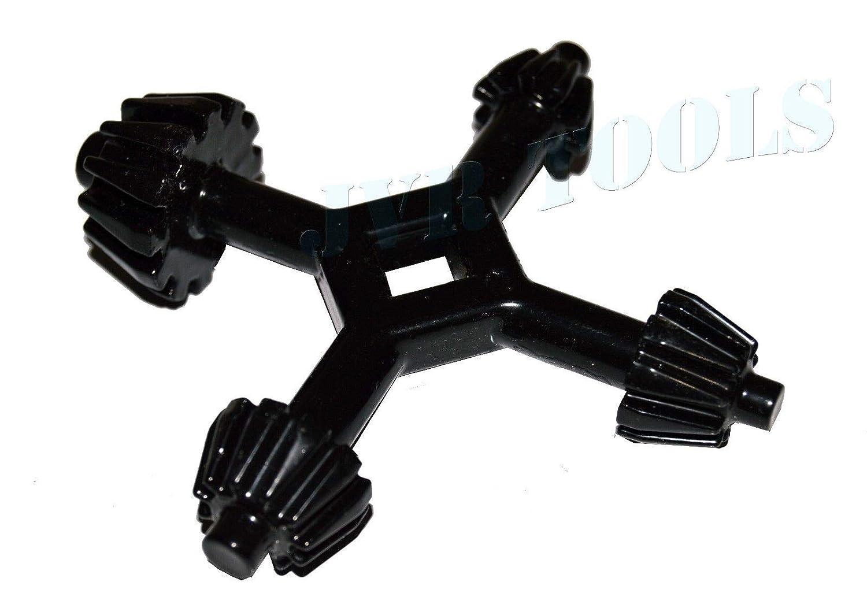 MonkeyJack 4 Way Chuck Drill Press 1//4 3//8 1//2 5//8 Universal Combination Key Chuck