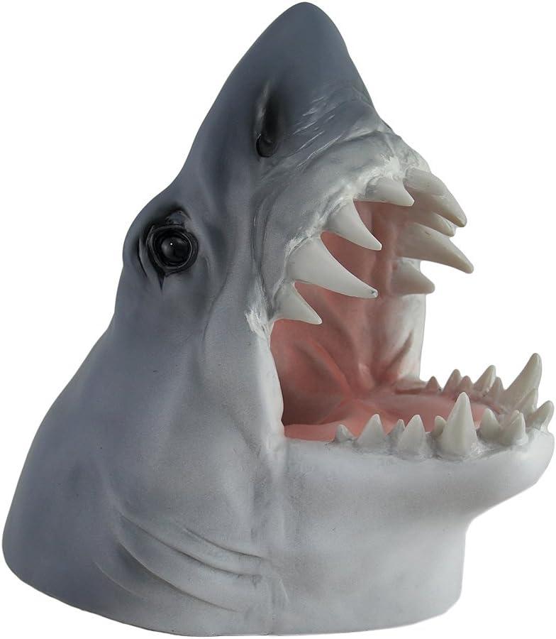 Zeckos Parched Predator Shark Head Wine Bottle Holder