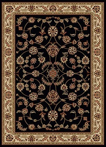 Traditional Como Soft Durable Rug 9.10 ft. x 12.10 ft. in Ivory