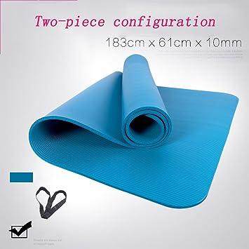 Yoga 183 * 61 cm Thick Mat Ampliado Tasteless Slip Fitness ...
