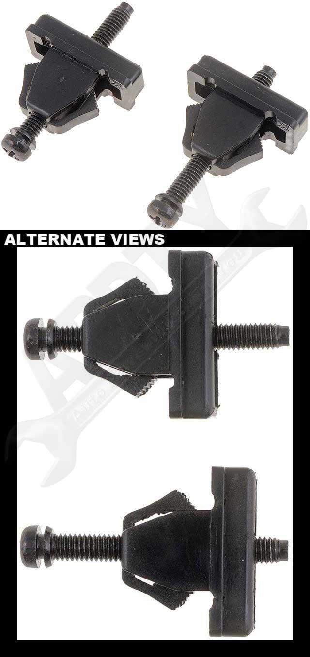 Sealed Beam Adjusters APDTY 53296 Headlamp Adjusting Screw