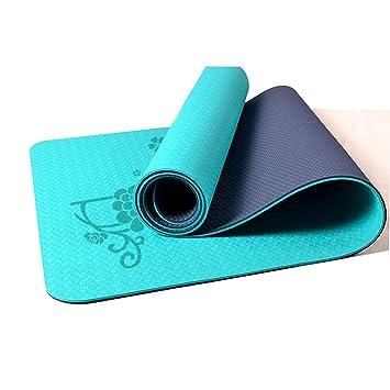 Zs-zs Estera De Yoga Material Ecológico TPE Sección Delgada ...