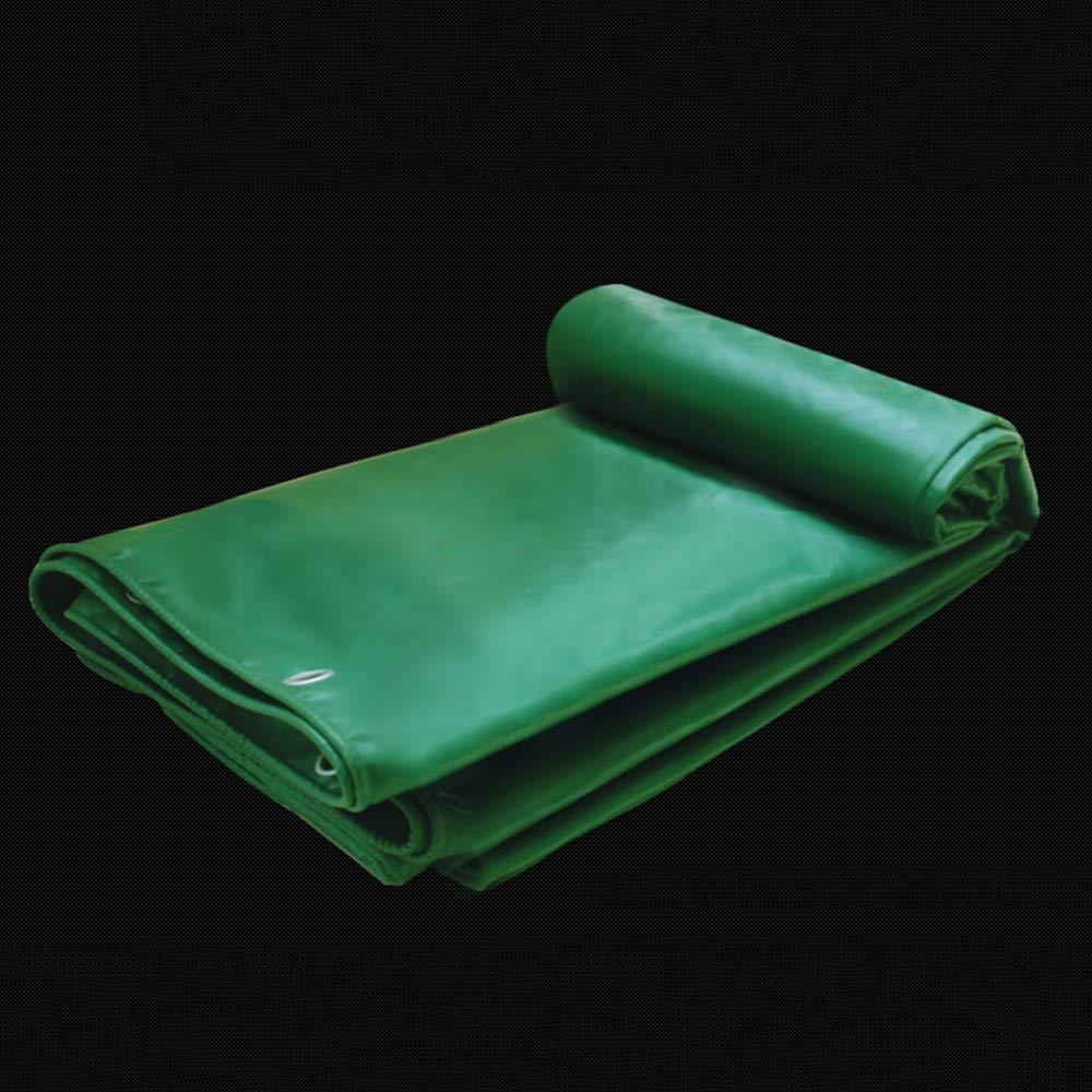 Plane YNN Outdoor Verdickung PVC Wasserdichte LKW Abdeckung Leinwand Leinwand Leinwand Schatten Tuch Tarps 530g   m² 0,4 mm (Farbe   Grün, größe   2X3m) B07KTL2V7B Zeltplanen Keine Begrenzung zu üben 2ecf0e
