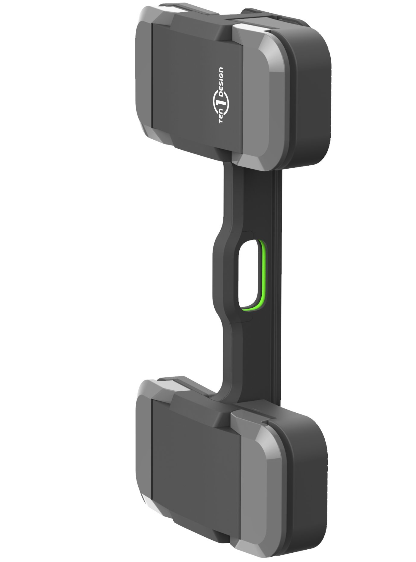 Ten One Design Mountie+ Mount for Sidecar, Large Tablets, iPad Pro, Portable Monitors, Instant Second or Third Display for Your Laptop Computer (T1-MULT-200) - Grey
