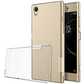 official photos a83a4 1fb64 Nillkin Nature Soft TPU Back Cover Case for Sony Xperia XA1 Plus -  Transparent White