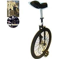 Monocycle Dodo 24 pouces (60cm) NOIR - Convient pour la route à partir de 13 ans + DVD offert