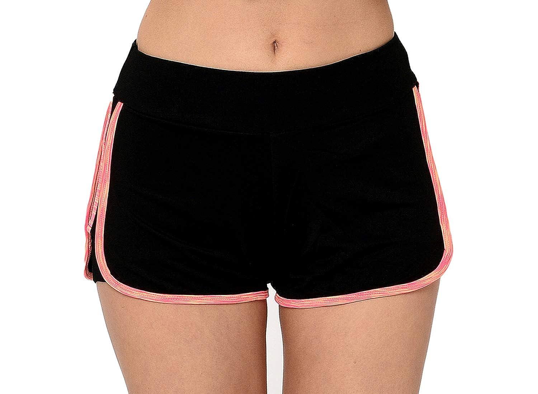 Waist Track Yoga Shorts. at Amazon