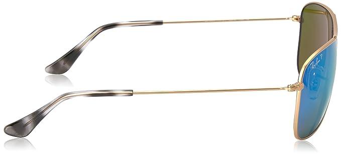 2842390e4d6 Amazon.com  Ray-Ban Men Metal Unisex Sunglass Polarized Aviator ...