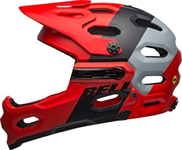 Bell Unisex - Super 3R MIPS Casco de Bicicleta downdraft Mat ...