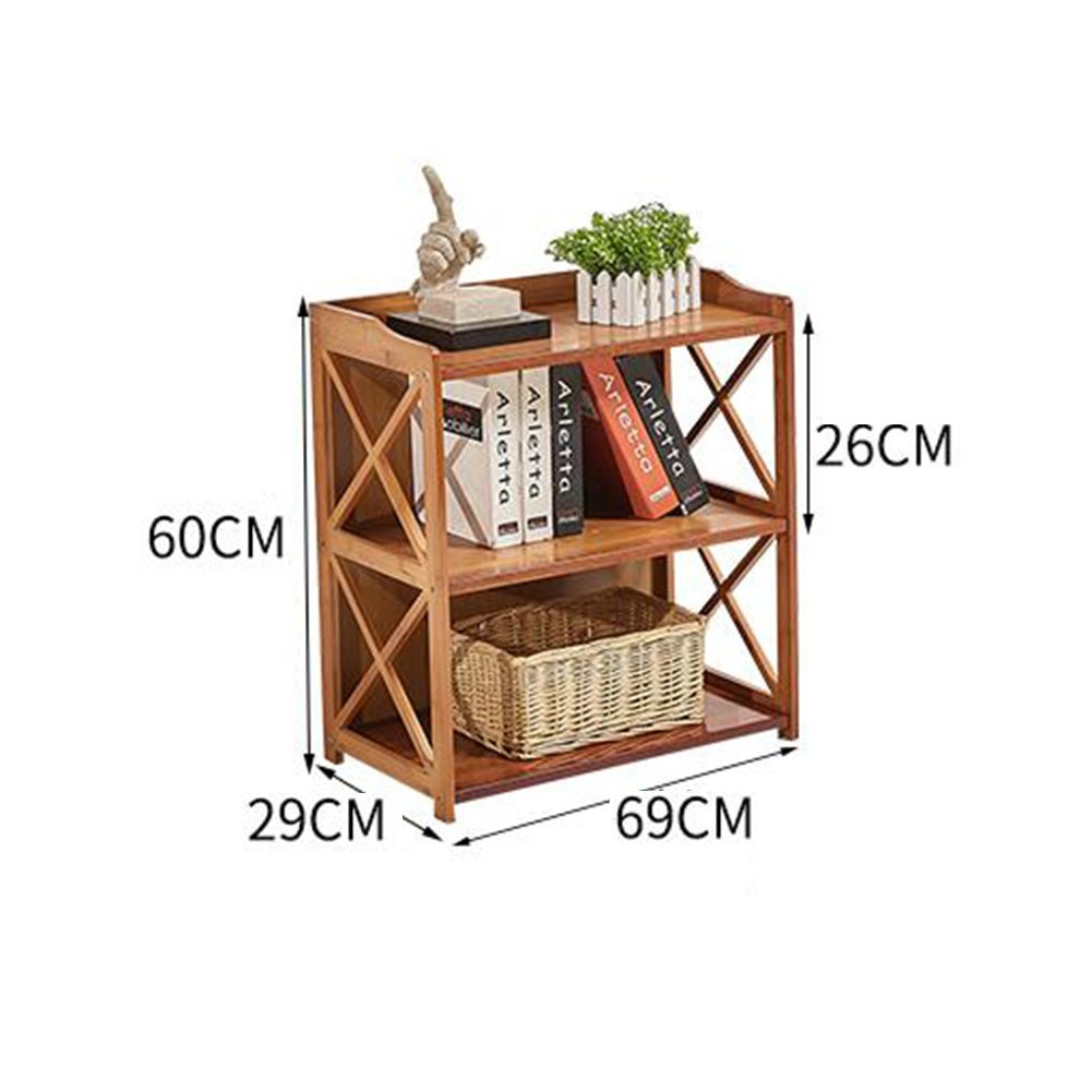 CJC Flowerpots Shrubs Bedside Table Drawer Nightstand Bookcases Storage Color : T1