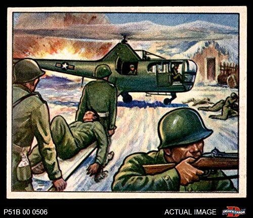 1951 Bowman Red Menace # 30 Helicopters in Action (Card) Dean's Cards 5 - EX 2706244 ()