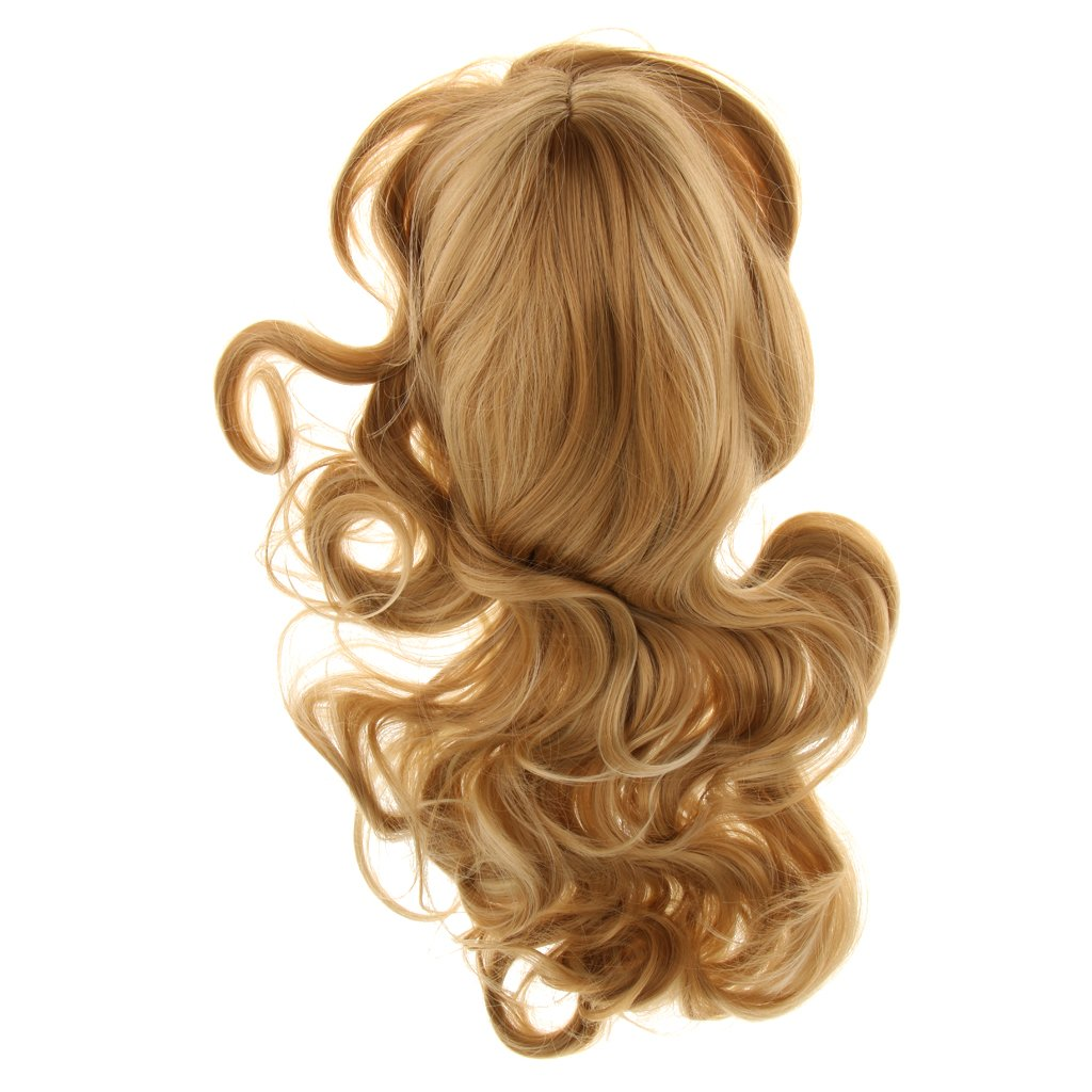 MonkeyJack Fashion Women Girls Cosplay Wigs Long Curly Wavy Hair Wigs For Party Costume
