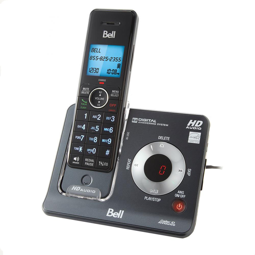 Bell BE6425-3 DECT 6.0 Cordless Phone with Three Handsets and Digital Answering System Vtech