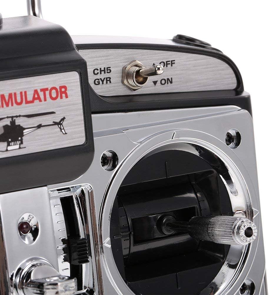 BONHEUR 16 en 1 USB 6CH simulador de Vuelo emulador de Helicóptero ...