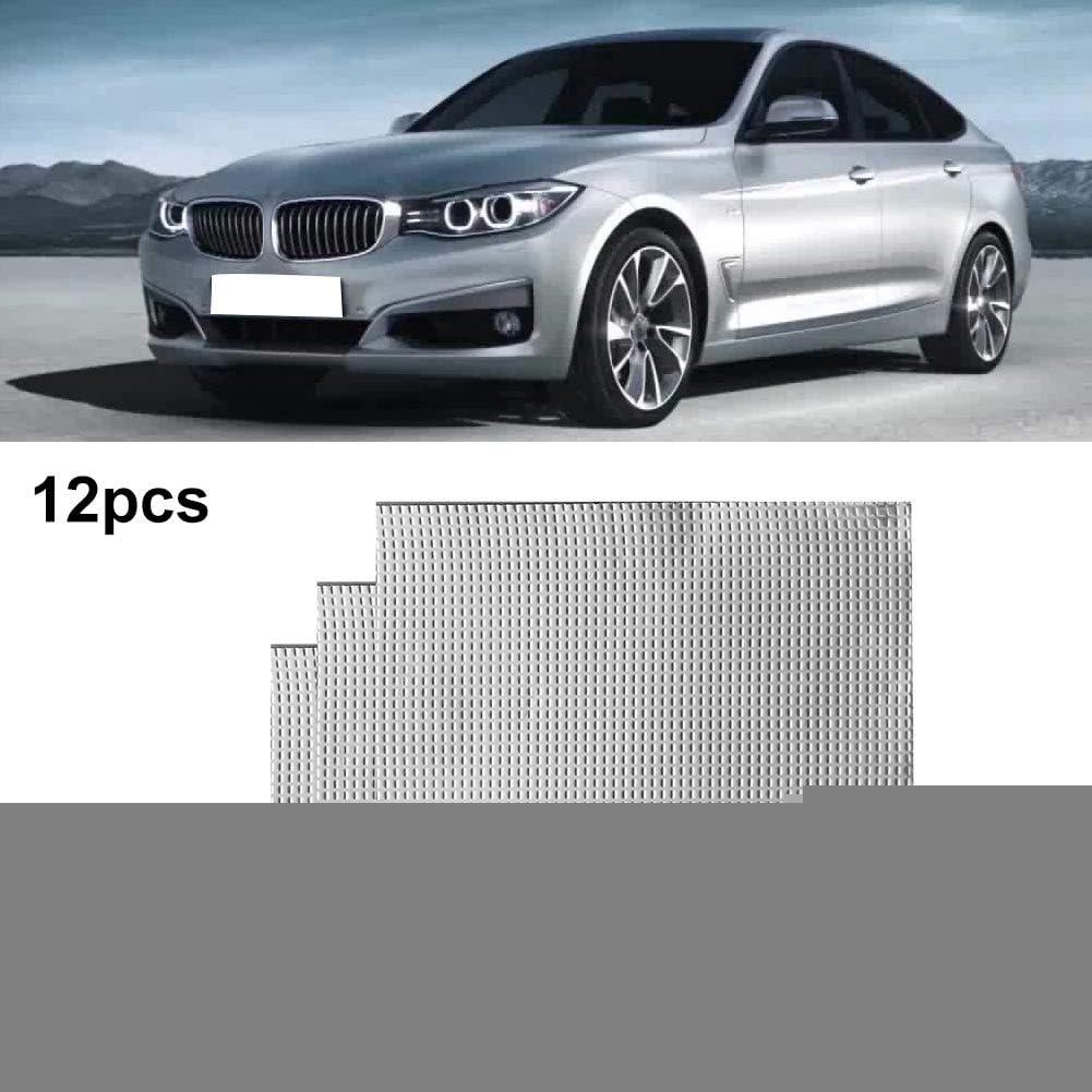 Car Sound Deadening Mat,12pcs 15x20inch 1.3mm Thickness 25sqft Butyl Automotive Sound Deadener Audio Noise Insulation and dampening