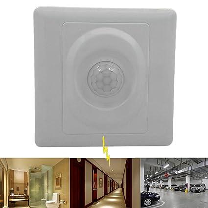 PIR Interruptor, luz LED automático Sensor de movimiento por infrarrojos Detector favolook 8 M Gama