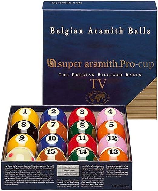 Bolas de billar – Super Aramith Pro TV: Amazon.es: Deportes y aire ...