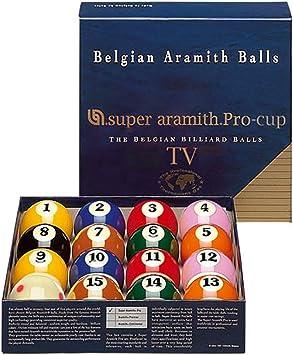 Bolas de billar – Super Aramith Pro TV: Amazon.es: Deportes y aire libre