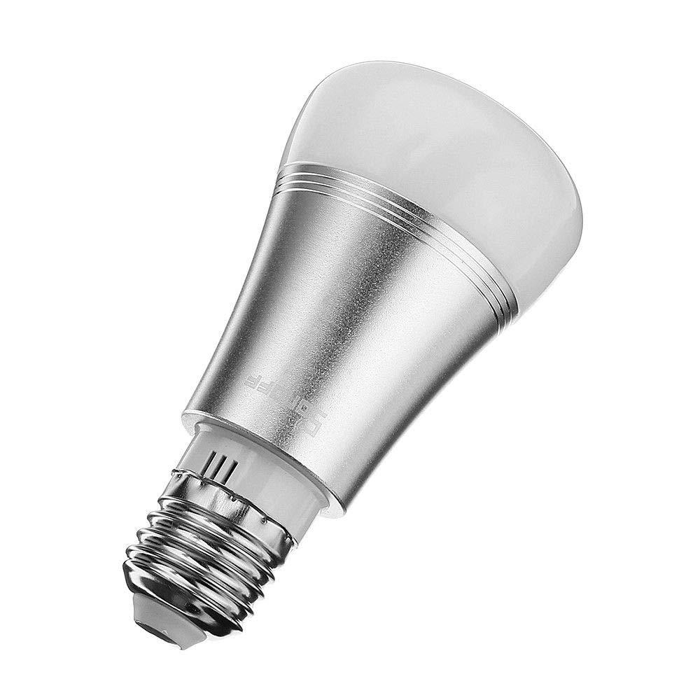 luz regulable pilotable App sonoff 6/W E27/Smart LED WiFi LED compatible con Alexa y Google Home. hasta 16/millones de colores