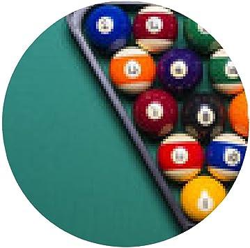 alfombrilla de ratón bolas de billar colocados en triángulo ...